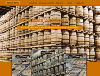 kentuckybarrels.com screenshot