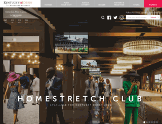 kentuckyderby.org screenshot