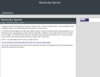 kentuckysportsradio.net screenshot