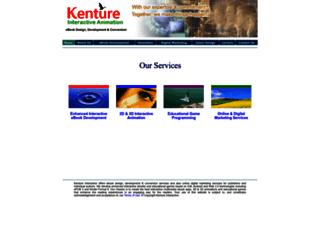 kenture.com screenshot