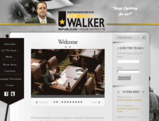 kenwalkerforhouse.com screenshot