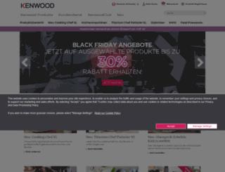 kenwood.ch screenshot