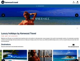 kenwoodtravel.co.uk screenshot