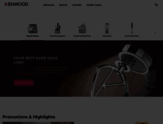 kenwoodworld.com screenshot