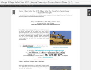 kenya-3-days-safari-tour.blogspot.com screenshot