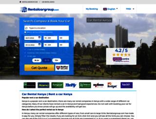kenya.rentalcargroup.com screenshot