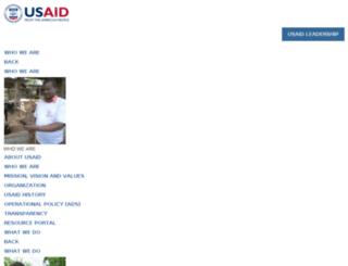 kenya.usaid.gov screenshot