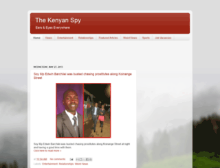 kenyanspy.blogspot.com screenshot