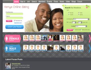 kenyan online dating site