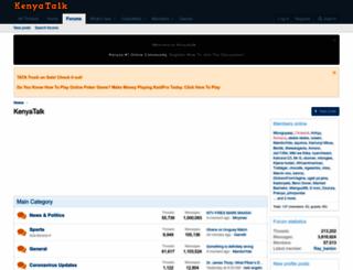 kenyatalk.com screenshot