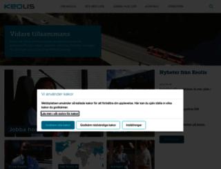 keolis.se screenshot