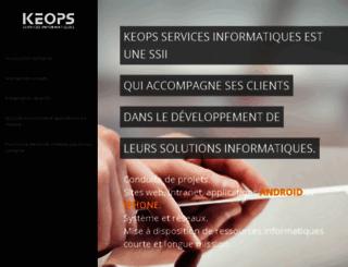 keops.net screenshot