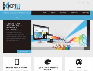 keptus.com screenshot