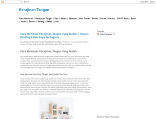 kerajinantangann.blogspot.com screenshot