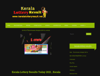 kerala-lotteries.blogspot.com screenshot