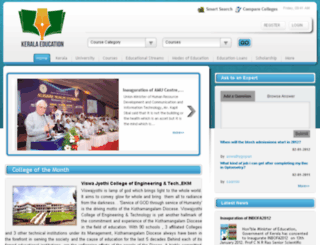 keralaeducations.com screenshot