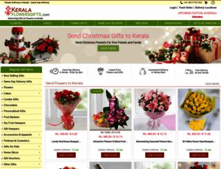 keralaflowersgifts.com screenshot