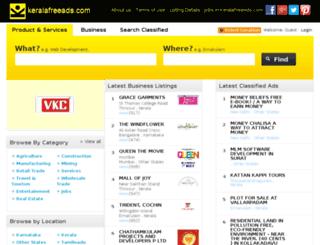 keralafreeads.com screenshot