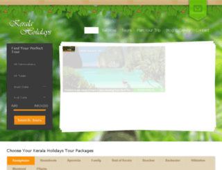 keralaholidays.info screenshot