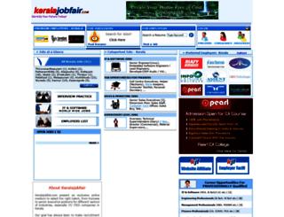 keralajobfair.com screenshot