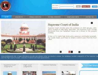 keralalawnet.com screenshot