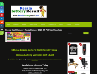 keralalotteryresult.biz screenshot