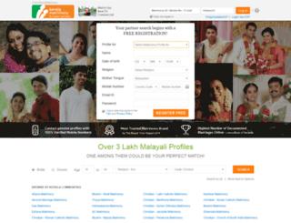 keralamatrimoni.com screenshot