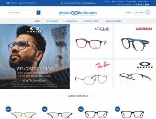 keralaopticals.com screenshot