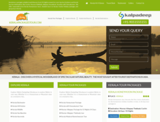 keralapackagestour.com screenshot