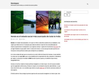 keralapsc.org screenshot
