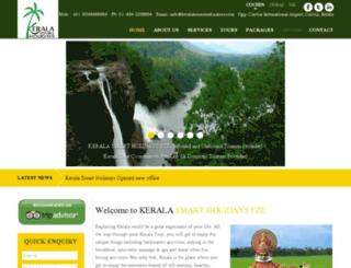 keralatourcoordinators.com screenshot