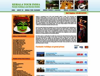 keralatourindia.com screenshot