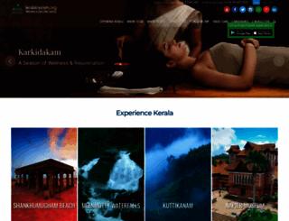 keralatourism.org screenshot