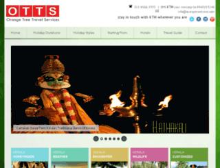 keralatourismholidays.com screenshot