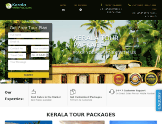 keralatourist.in screenshot