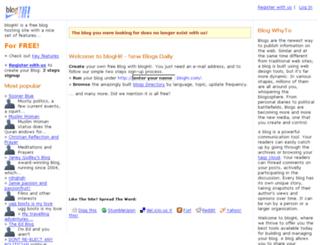 keralatourpackages.bloghi.com screenshot