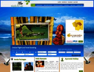 keralatours.com screenshot