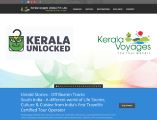 keralavoyages.travel screenshot