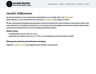 keramik-werkhof.de screenshot