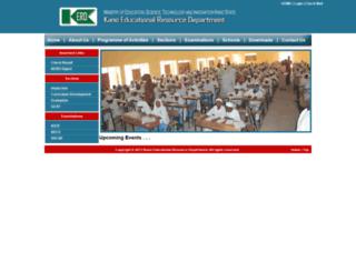kerdonline.com screenshot