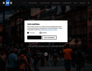 kerekparosmiskolc.net screenshot