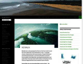kerelatourism.com screenshot