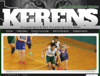 kerens.k12.tx.us screenshot