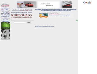 keresohalo.hu screenshot