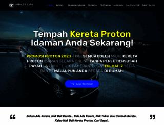 keretaproton.com screenshot