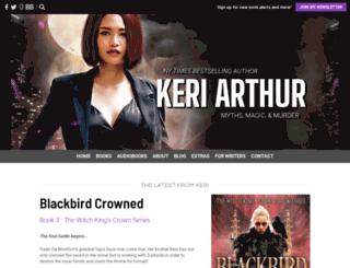 keriarthur.com screenshot