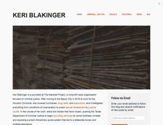 keriblakinger.com screenshot