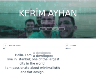 kerimayhan.com.tr screenshot