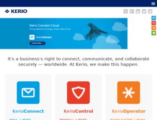 kerio.in screenshot
