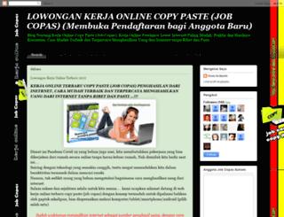 kerja-online-deasi.blogspot.com screenshot